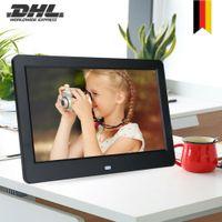 10in TFT Fotorahmen Digitaler Bilderrahmen 26*17.2*2.4cm mit Fernbedienung 32GB