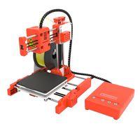Easythreed® X1 Mini 3D-Drucker 100 * 100 * 100 mm Druckgröße für den Haushalt und die Schüler unterstützen das Drucken mit einer Taste mit 1,75 mm 0,4 mm Düse - Orange