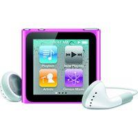 """Apple iPod nano 16Gb Pink iPod nano, Flash-media, 16 GB, 39.1 mm (1.54 """"), 240 x 240 Pixel, AAC, MP3, WAV, 3.5 mm"""