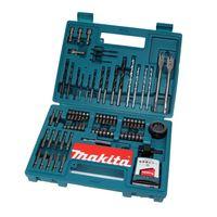 Makita B-53811 Bit & Bohrer-Set 100-teilig mit Bithalter in Kunstoffkoffer
