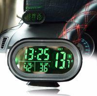 Auto Digital Innen/Aussen Thermometer/Spannung-Monitor/Uhr Meter Alarm Monitor