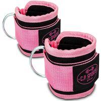 Premium Fußschlaufe - pink - Paar