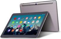 TOSCIDO Tablets 10 Zoll 4G LTE Dual SIM, Android 10.0 ,Quad Core,64GM eMMC,4GB RAM,Doppelt Lautsprecher Stereo,WiFi/Bluetooth/GPS,Inklusive Deutscher Anweisungen, K108, Farbe: Grau