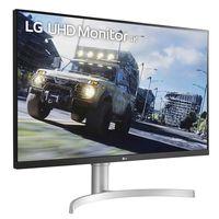 LG 32UN500-W - 80 cm (31.5 Zoll) - 3840 x 2160 Pixel - 4K Ultra HD - 4 ms - Schwarz - Weiß