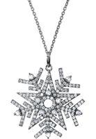 Jacques Lemans - Ltd Edt Snowflake Sterlingsilber mit White Topas - SE-C126A
