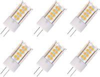 6er-Pack G4 AC/DC 12V LED Leuchtmittel, 5 Watt,360 Grad Abstrahlwinkel, entspricht 50 W G4 Halogen Glühlampe, Nicht Dimmbar( Warmweiß)