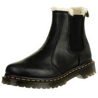 Dr. Martens 2976 21045001 Damen Leonore Black Wyoming Schwarz Chelsea Boot Warmfutter, Groesse:39 EU / 6 UK / 8 US
