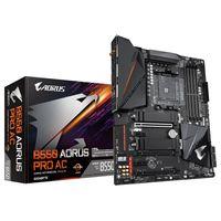 Gigabyte B550 AORUS Pro AC - AMD - Socket AM4 - AMD Ryzen 3 3rd Gen - 3rd Generation AMD Ryzen 5 - 3