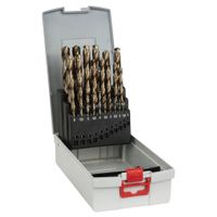Bosch Metallbohrer-Set HSS-Co mit Box 25 tlg. 1,0-13,0 mm