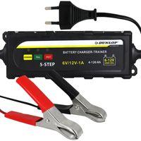Dunlop Batterieladegerät 6V 12V für Auto Transporter und Boot Batterien Kfz Autobatterie Ladegerät