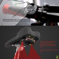 X5 Fahrrad R/ücklicht Bike Remote Wireless Licht Blinker LED Beam USB Kostenpflichtiges Radfahren R/ücklicht