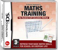 Nintendo Professor Kageyama S Maths Training, Nintendo DS