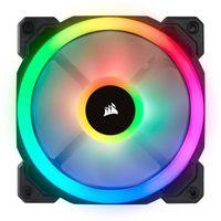 Corsair LL Series LL120 RGB-LED Premium Magnetic Levitation Fan (120x120x25)