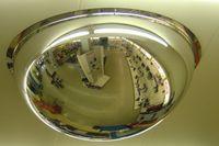 360 Grad Panoramaspiegel Rundumsicht Spiegel Sicherheitsspiegel Acryl - verschiedene Durchmesser Größe:Ø 600 mm