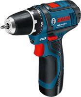 Bosch GSR 10,8-2-LI, 1 cm, 1,9 cm, 30 Nm, 15 Nm, 2,5 m/s², 400 RPM