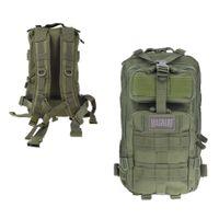 HI-TEC - Magnum Fox Backpack Olive ca.25L (Rucksack) Schwarz LARGE großer Ranzen Assault Pack