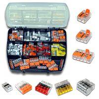WAGO Sortimentsbox mit 150 Stück Verbindungsklemmen | Serie 221 und 2273 | Box Set VerbindungsklemmeWAGO Sortimentsbox mit 150 Stück Verbindungsklemmen | Serie 221 und 2273 | Box Set Verbindungsklemme