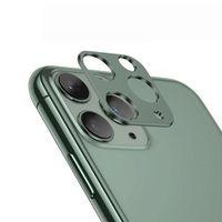 Kamera Rückkamera Linsenschutz Schutz Objektiv Metall Kamerahülle Kameraschutz Linse kompatibel mit iPhone 11 Pro Max Grün