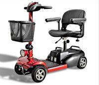 Eco Engel 401 Rot Elektro 4 Rad, 6 km/h Elektromobil Senioren Roller Seniorenmobil Elektromobil