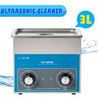 EU 100W GT Sonic 40KHz Ultrasonic Cleaner Ultraschall reinigungsgerät Heizung VGT-1730QT 3L