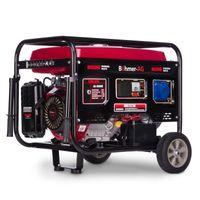 Böhmer-AG 9000W-e - 8,5W Benzin Stromerzeuger E-Start Schlüsselstart   Stromaggregat Notstromaggregat Generator 4-takt 17PS Motor