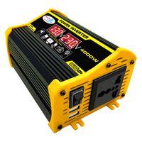 Neuer 4000W DC12V zu AC220V Autotransformator Dual Digital Display Power Inverter