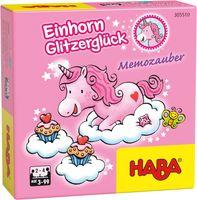 Haba Einhorn Glitzerglück - Memozauber