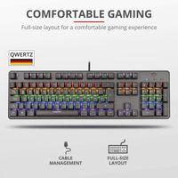 Trust Gaming mechanische Tastatur Asta GXT865