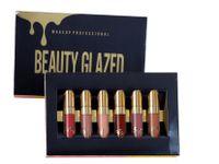Lip Gloss Beauty Glazed 6 Stück Lippenstifte verschiedene Farben Lipgloss Set