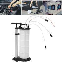 9L Ölabsauger Ölabsaugpumpe Dieselpumpe Öl Flüssigkeitsaugpumpe Vakuum-Absaugung für Benzin Kraftstoff Diesel