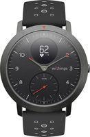 Withings Steel Hybrid Multi Sport Tracking Smartwatch Uhr Herzfrequenz schwarz- wie neu