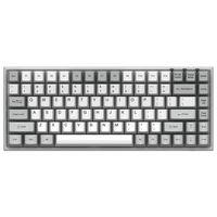 84 Tasten Mechanische Tastatur bluetooth Type-C Tastatur PBT Gateron Switch Gaming Keyboard, Gelb Switch