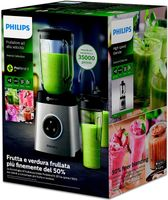 Philips HR 3655/00 Avance Collection Standmixer Edelstahl 1,8L
