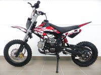 KXD Dirt Bike 125ccm 17/14 Zoll Cross Vollcross Pocketbike Pit Enduro 125cc 12PS