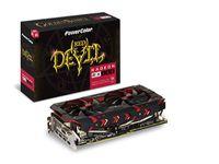 PowerColor Radeon RX 580 Red Devil Golden Sample 8GB - Grafikkarte - PCI-Express AXRX580 8GBD5-3DHG/