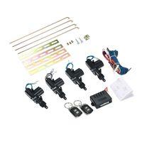 12V Universal Auto Fernbedienung Zentralverriegelung Kit Keyless Entry System mit 2 Fernbedienung Unterstuetzung Trunk Pop