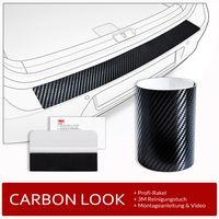Ladekantenschutz Folie Lackschutzfolie für Skoda Octavia 4 Kombi ab Bj. 2020-, Farbe:Carbon-Look
