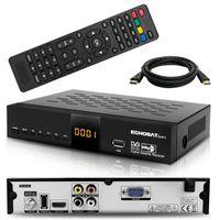 HD SAT Receiver Echosat Digital mit Audio Cinch USB HDMI Full HDTV 1080p Tuner