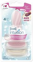 Wilkinson Sword Intuition Naturals Sensitive Care Trend Edition, Rasierapparat mit 1 Klinge