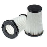 vhbw 2x Staubsaugerfilter kompatibel mit AEG CX7-2-45AN, CX7-2-45B360, CX7-2-45BM, CX7-2-45I360, CX7-2-45IM, CX7-2-45S360 Staubsauger, Lamellenfilter