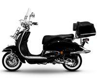 Retro Roller Motorroller EasyCruiser  schwarz    50 ccm - 45 Km/H