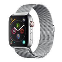 Apple Watch Series 4 GPS Cell 44mm Steel Milanese Loop