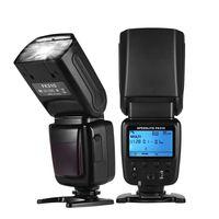 Universelle drahtlose Kamera Blitzlicht Speedlite GN33 LCD-Display fuer DSLR-Kameras Kamerablitze