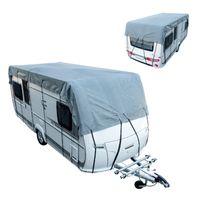 ProPlus Wohnwagen und Wohnmobile 700 x 300 cm grau