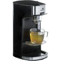 Senya Tea Time Teemaschine, elektrische Teekanne für losen Tee oder Teebeutel, mit abnehmbarem Teeei, Schwarz 1415 W