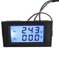 AC 80-300V 100A Digitaler Voltmeter Amperemeter Spannungsmesser