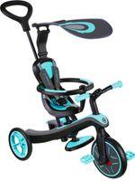 Globber Trike Explorer 4-in-1 Laufräder 2 Räder Junior Blau/Schwarz