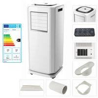 TroniTechnik mobile Klimaanlage HUSAVIK 7000 BTU inkl. Abluftschlauch, Fernbedienung und Fensterschiene