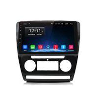 10 Zoll Android Autoradio für Skoda Octavia 2008-2013 mit Blende Navi Bluetooth