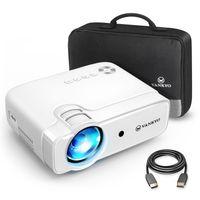 VANKYO Leisure 430 Mini Beamer 1080P Full HD Heimkino Projektor Leinwand HDMI